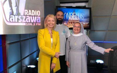 W programie Angelus (Radio Warszawa)