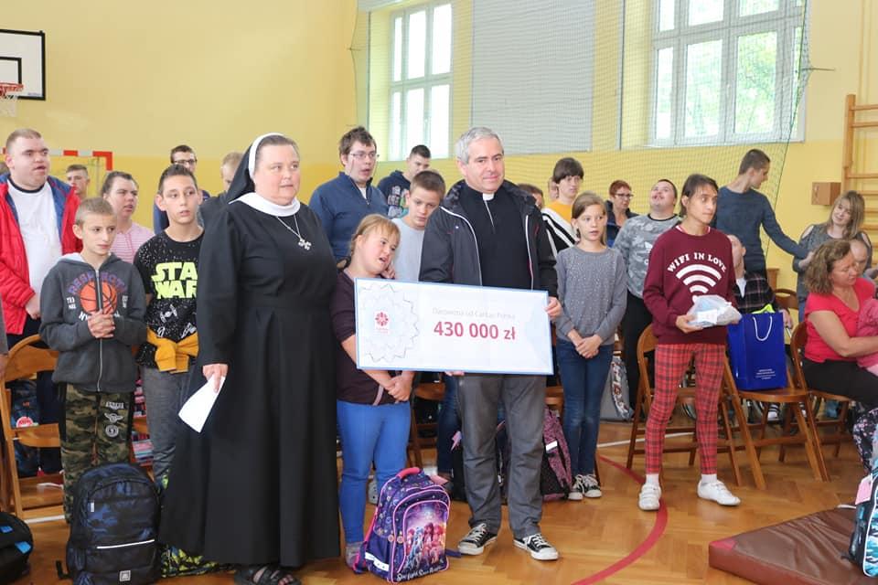 Caritas Polska w Mocarzewie