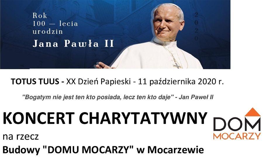 Koncert charytatywny dla Mocarzy