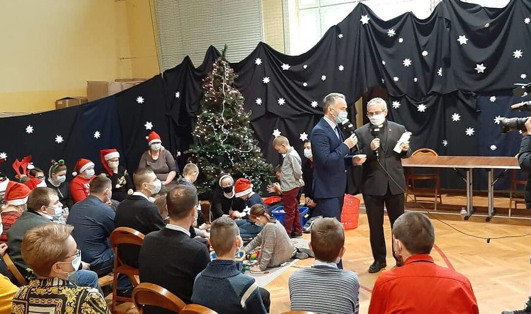Mikołajkowy Caritas Polska w Mocarzewie