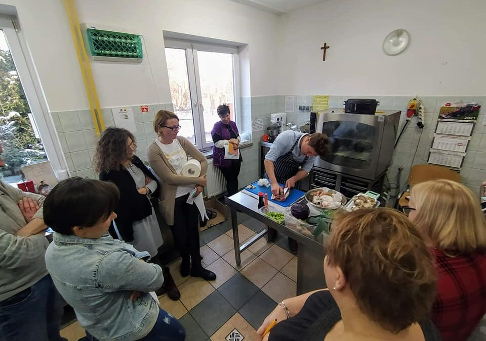 Warsztaty kulinarne zz Grzybowskiego Projektu