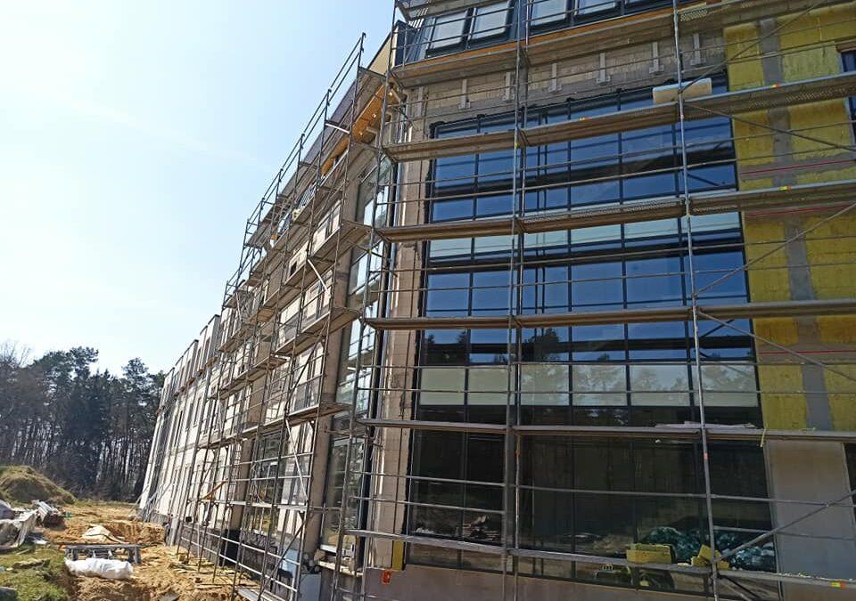 Z wizytą na budowie