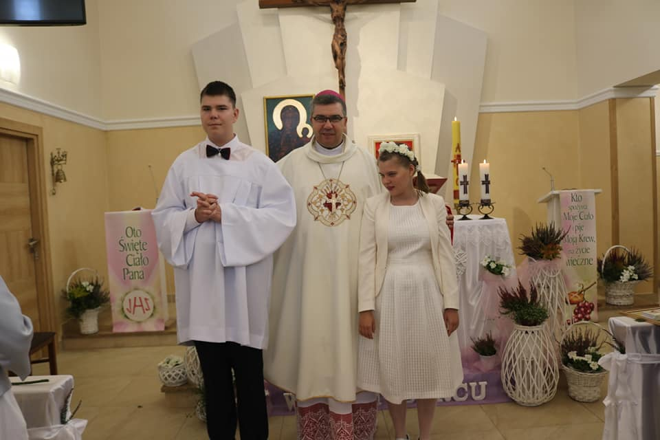 I Komunia św. Julki i Wiktora